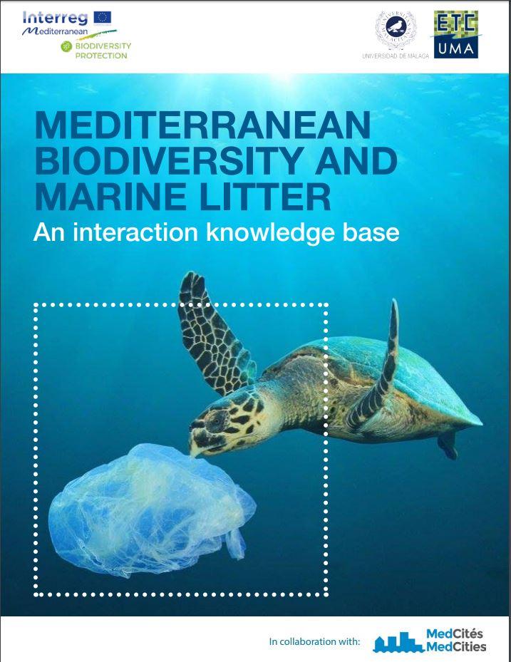 Mediterranean biodiversity and marine litter