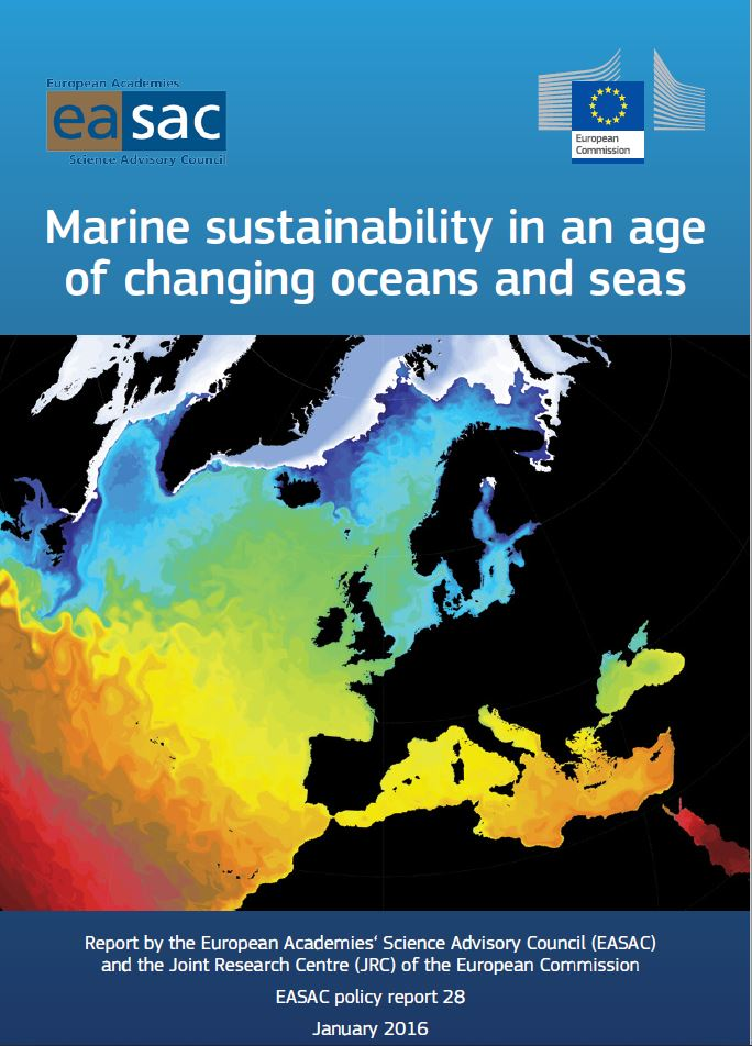 Marine sustainability in an age of changing oceans and seas