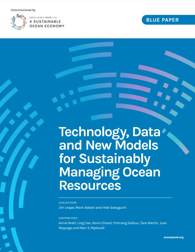 Technology, Data and New Models for Sustainably Managing Ocean Resources
